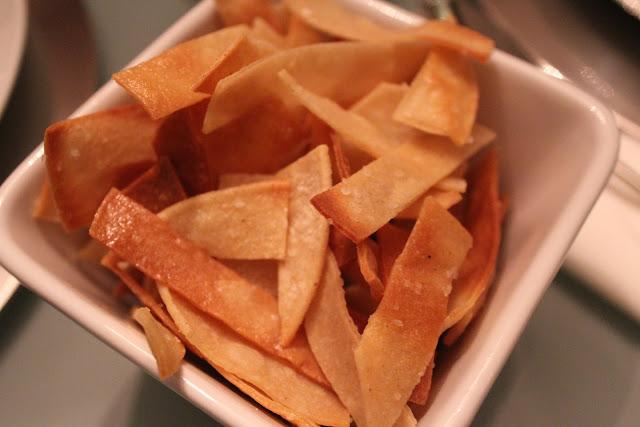 Corn tortilla strips