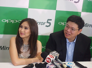 OPPO Mirror 5 Launches in the Philippines, Unveils Sarah Geronimo As First Local Ambassador
