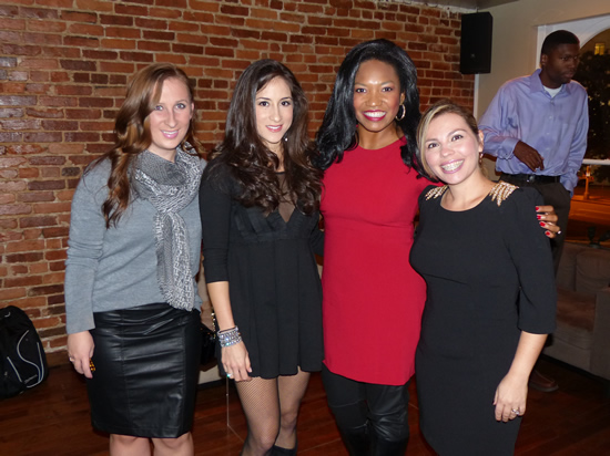 Liz from So Much To Smile About, Erin, Angelica from Clarendon Mom and Ana from Ana In Style