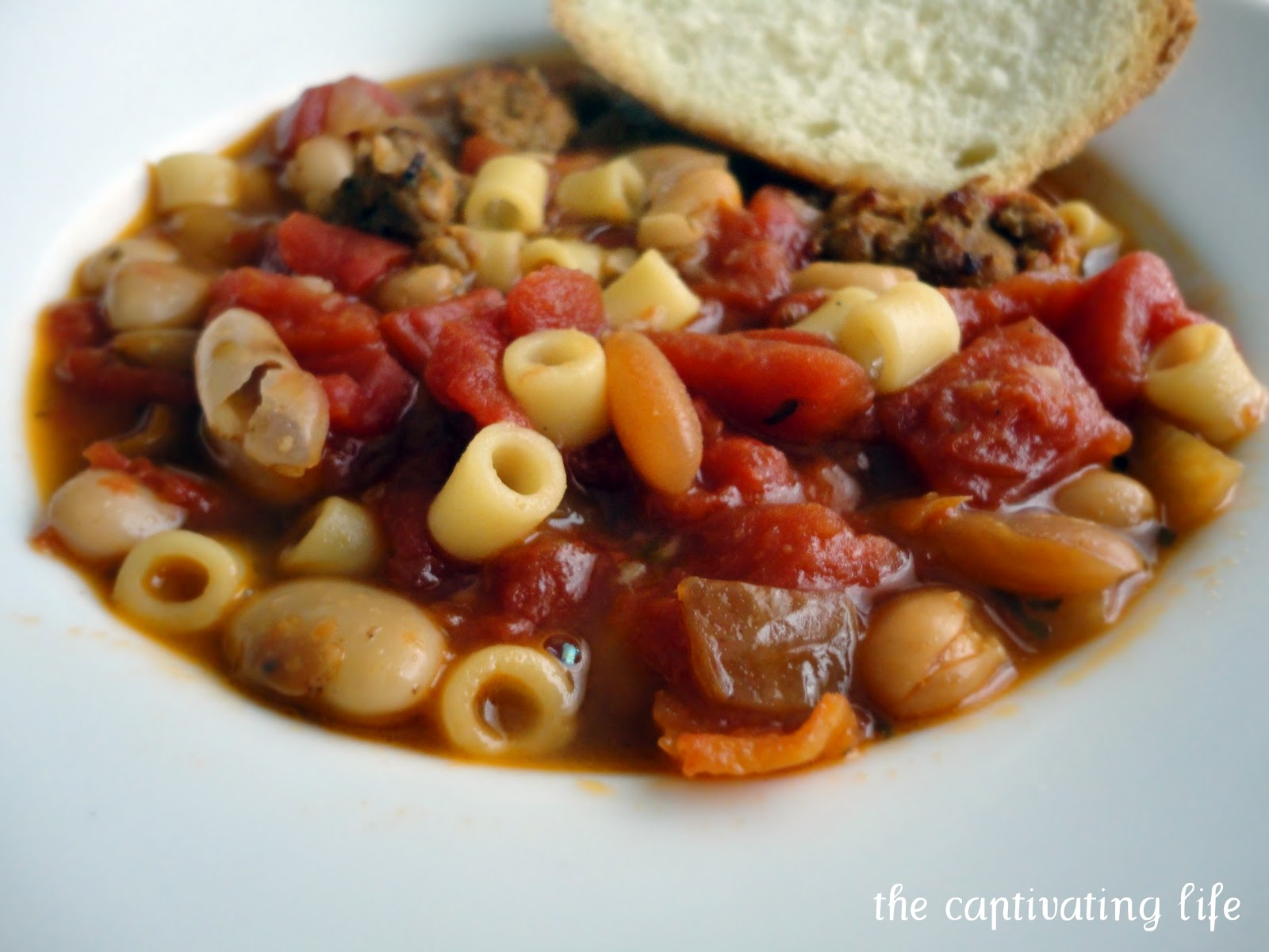 The Captivating Life: Pasta e Fagioli