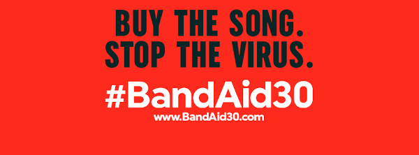 "#BandAid30 ""DO THEY KNOW IT'S CHRISTMAS?"" COMPRA EL TEMA COMBATE EL VIRUS DEL ÉBOLA"