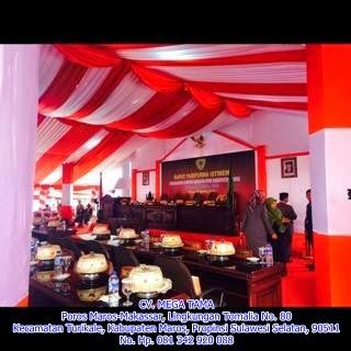 Acara Pelantikan Anggota DPRD Maros 2014-2019
