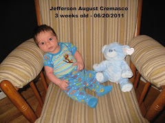 Jefferson 3 Weeks Old
