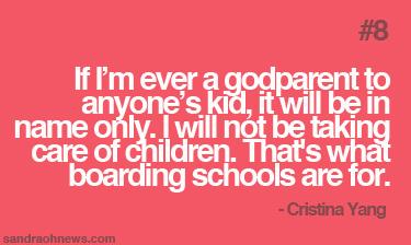 sandra oh cristina yang quotes