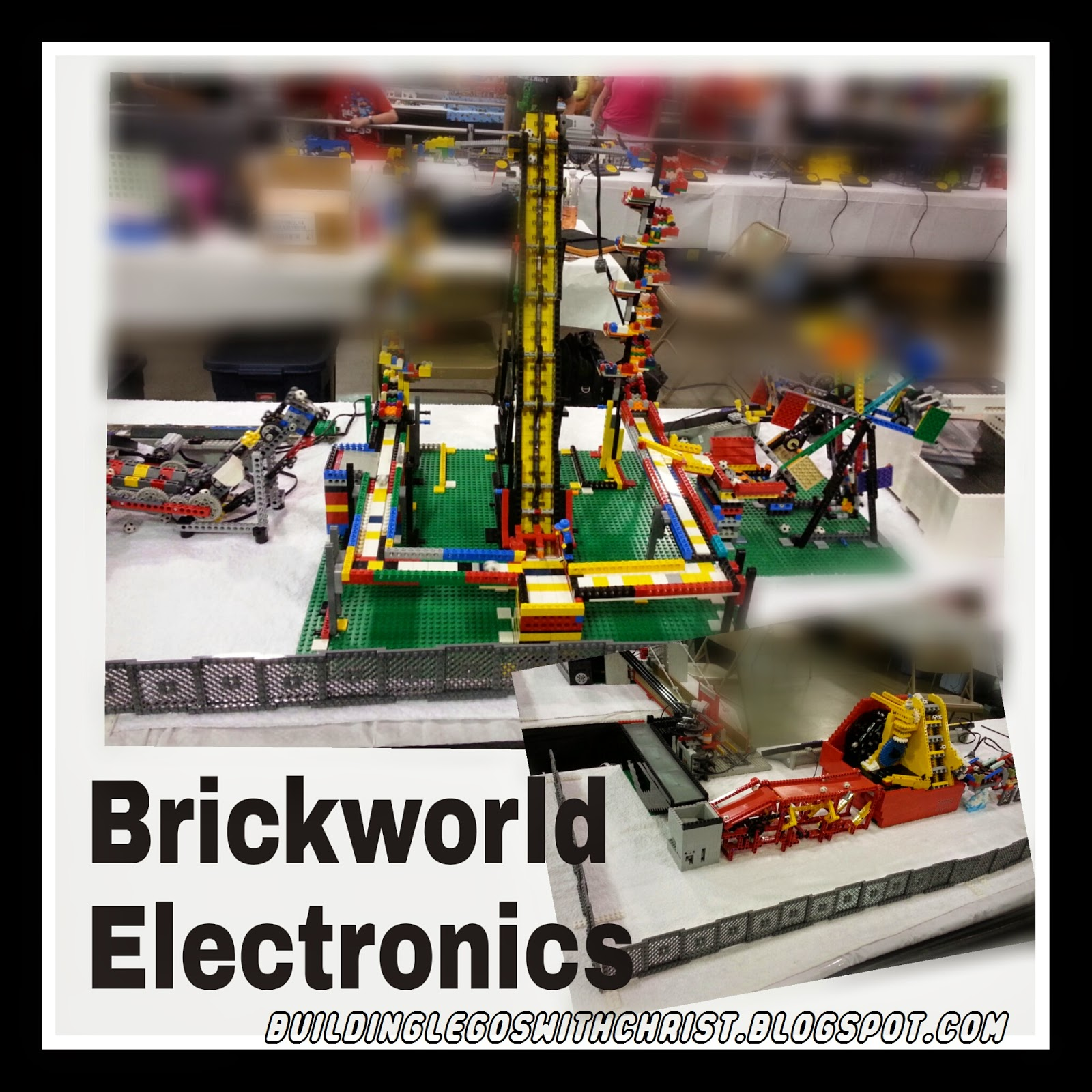 Brickworld Lego Electronic Ball Machine
