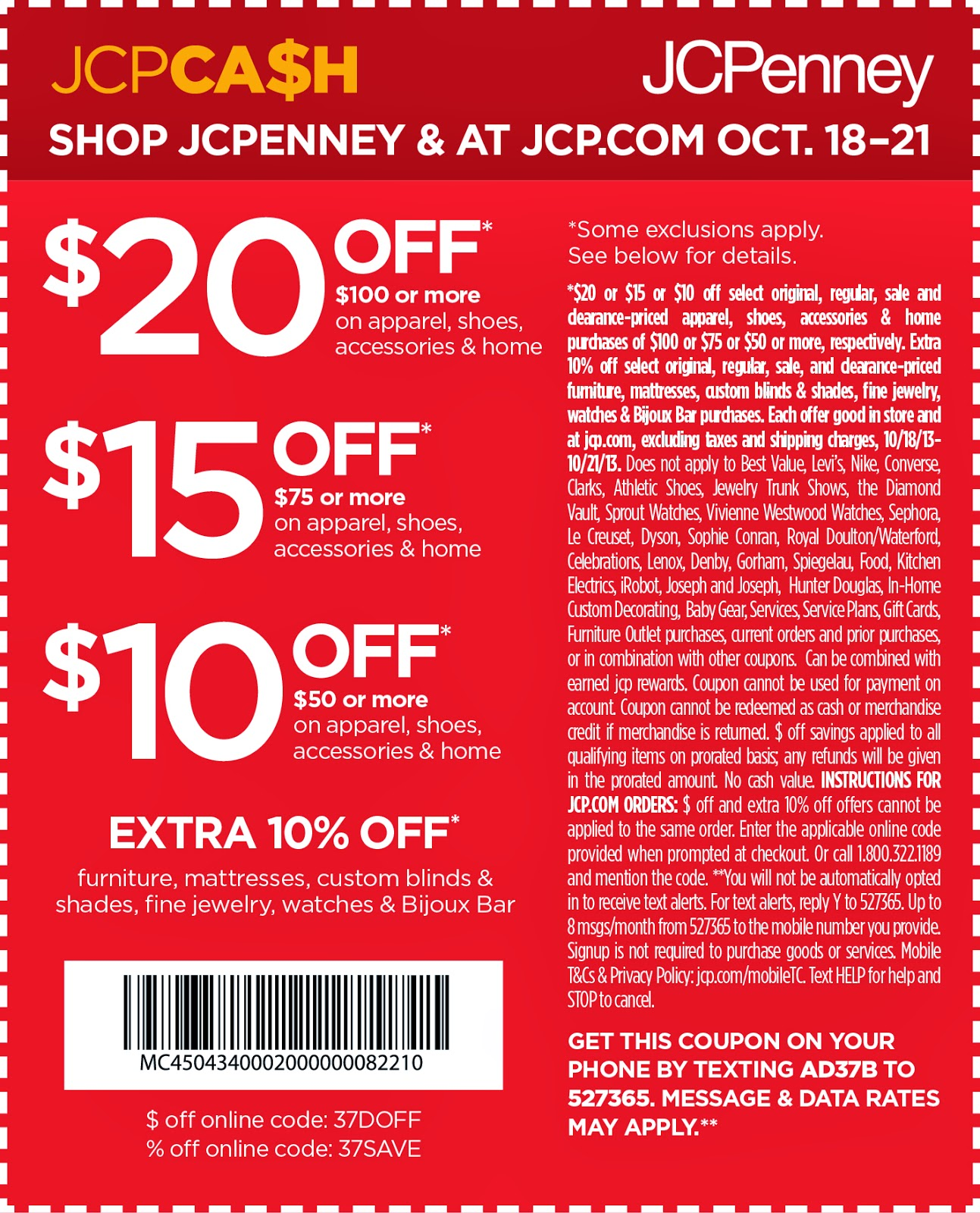 Jcpenney Store Printable Coupon 2014