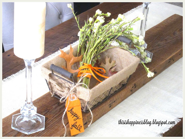 Reclaimed Wood Table Runner