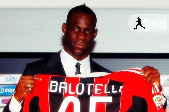 Mario Ballotelli Incar Gawang Inter Milan