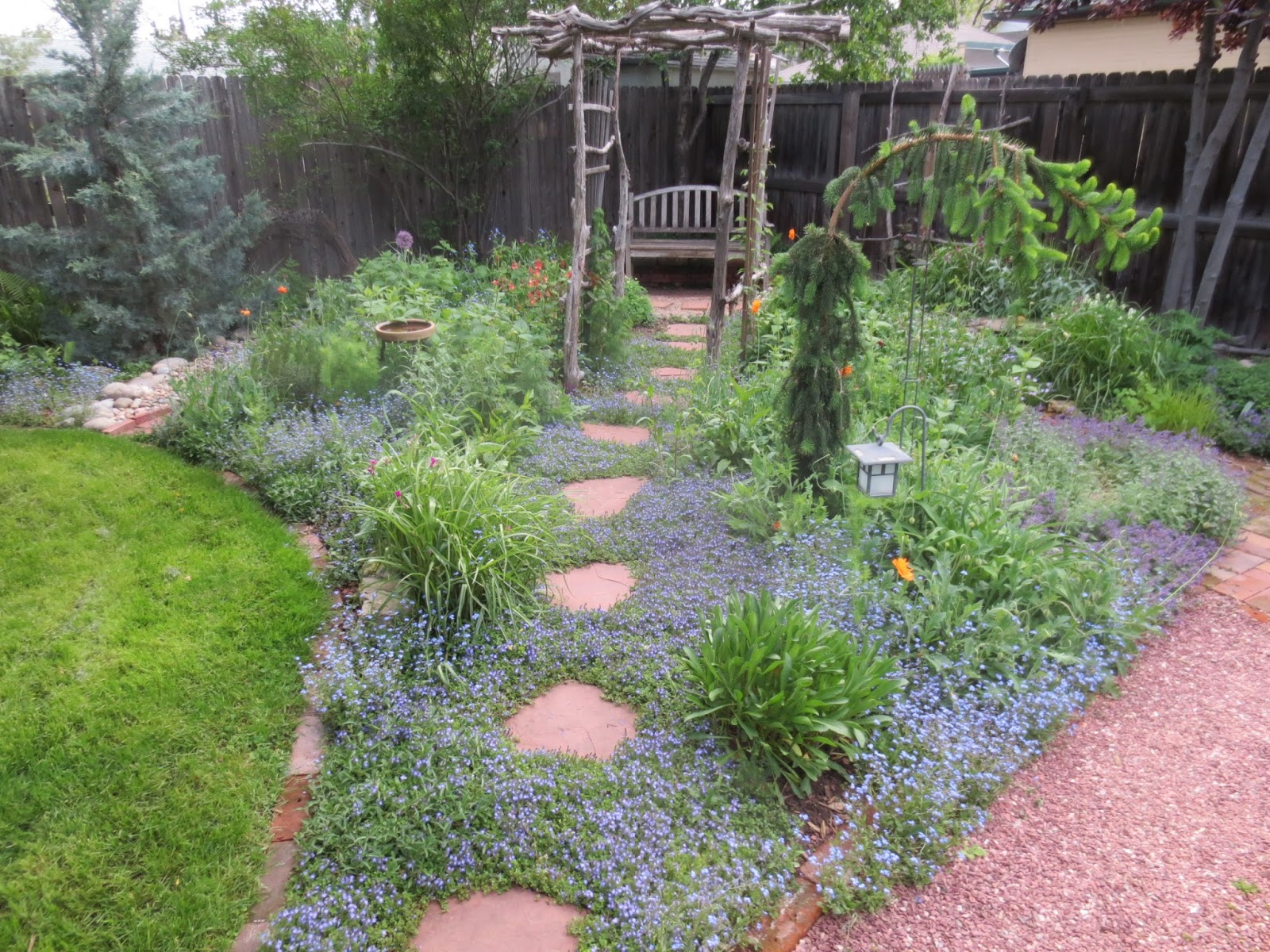 French country style from the foot of the rockies yearning for spring - French style gardens ...