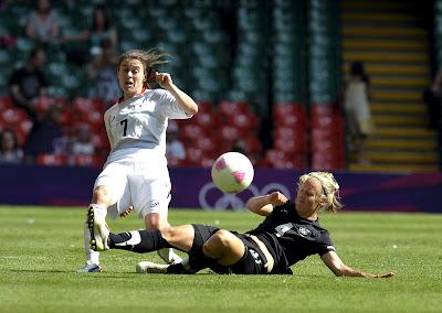 Semifinales Fútbol Femenil Londres 2012