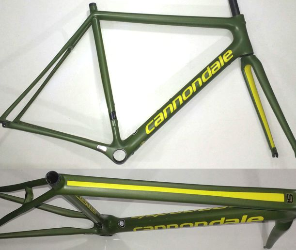 cannondale supersix evo verde
