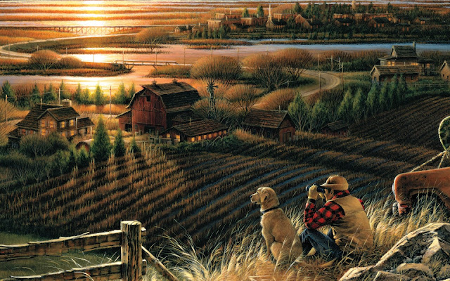 Terry Redlin Autumn Evening9