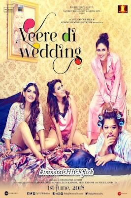Veere Di Wedding (2018) Hindi Movie hevc HDRip 160Mb