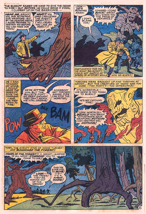 Atomic kommie comics reading room tales to astonish i challenged of course nobody including writer stan lee considered the super termites might start eating the surrounding forest once they finished munching on groot fandeluxe Gallery