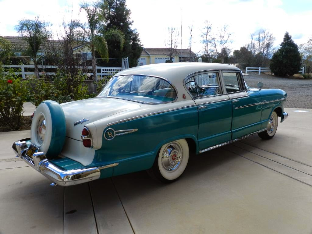 2015 Buick Lesabre >> All American Classic Cars: 1955 Hudson Hornet Custom 4 ...
