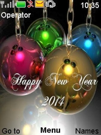we at 2014newyearcelebrationblog completely collected of the one of the best and creative happy new year 2014 themes for mobiles phone smartphone