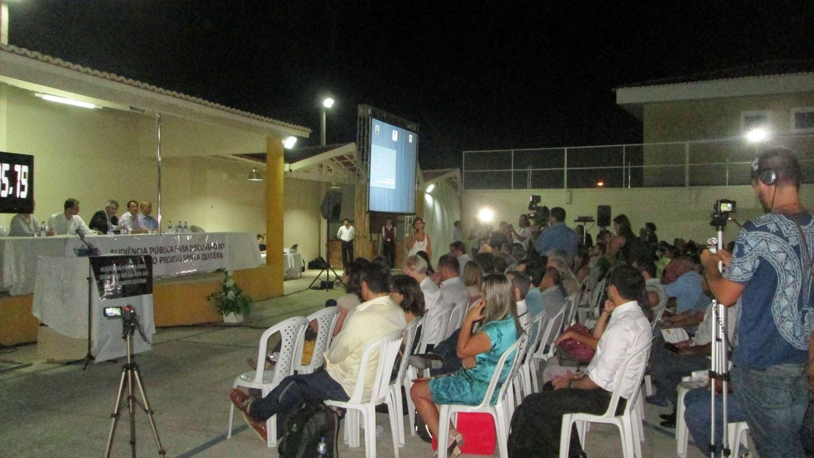JUFRA marca presença na Audiência Projeto Santa Quitéria.