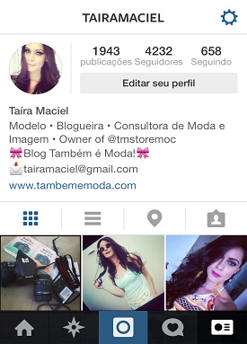 Encontre-nos no Instagram