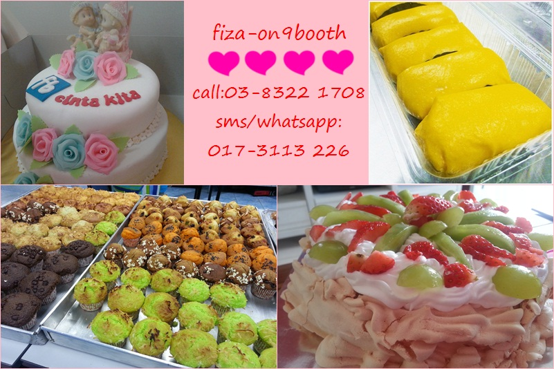 Fiza On-9 Booth @ La Cottage, Tmn Putra Perdana, Puchong