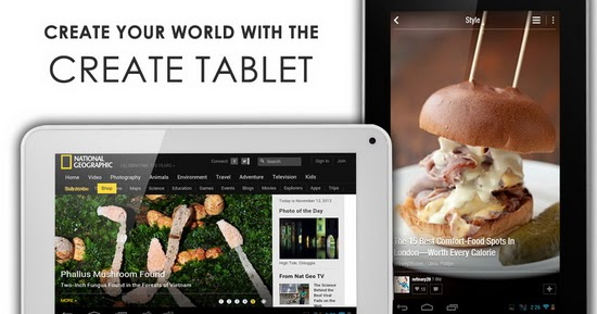create tablet