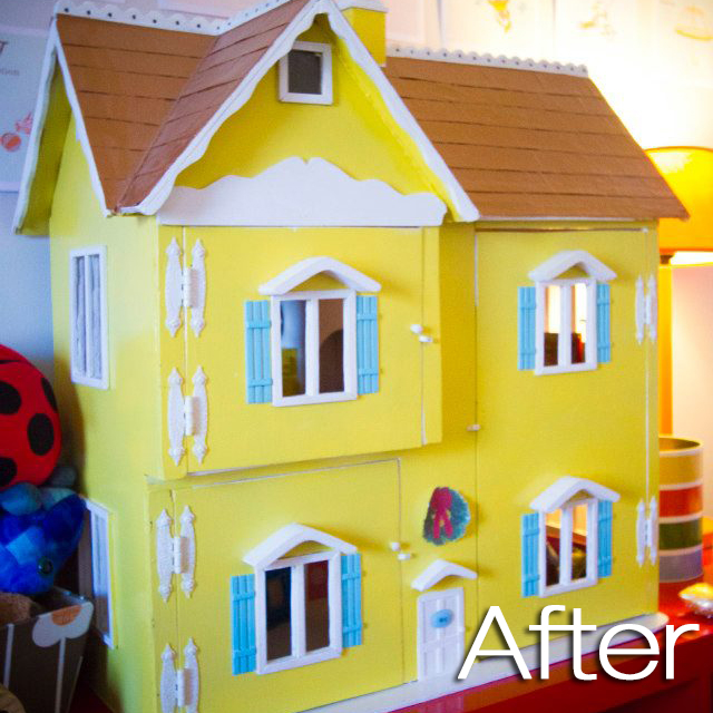Popcorn Movie Nights Extreme Dollhouse Makeover