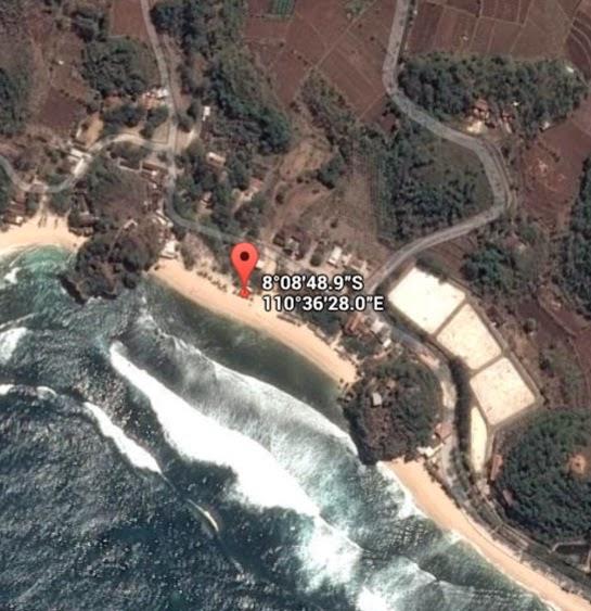 Koordinat Lokasi Pantai Sundak_siparjo.com