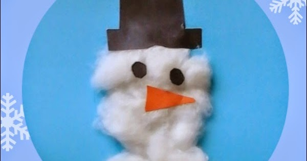 busy hands  snowman texture art