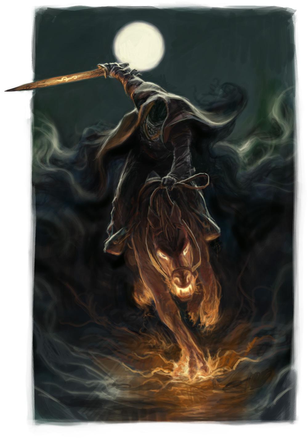Celtic pumpkin ghost spotlight the headless horseman of sleepy hollow - Pictures of the headless horseman ...