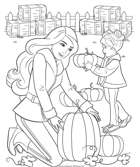 Coloring Pages Of Barbie Life In The Dreamhouse : Barbie life in the dreamhouse coloring pages