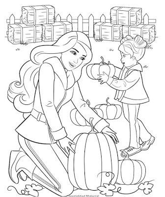 Barbie Dreamhouse Coloring Pages