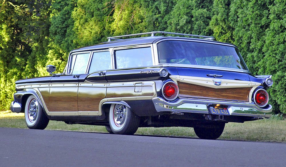 All American Classic Cars: 1959 Ford Fairlane 500 Country Squire 4 ...