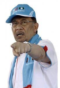 Ketua Umum KEADILAN, Datuk Seri Anwar Ibrahim.