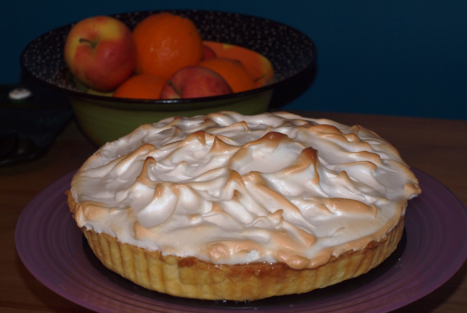 how to put meringue on a pie