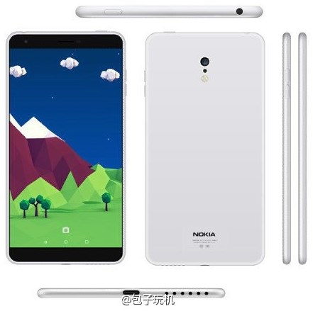 Smartphone Android Nokia C1