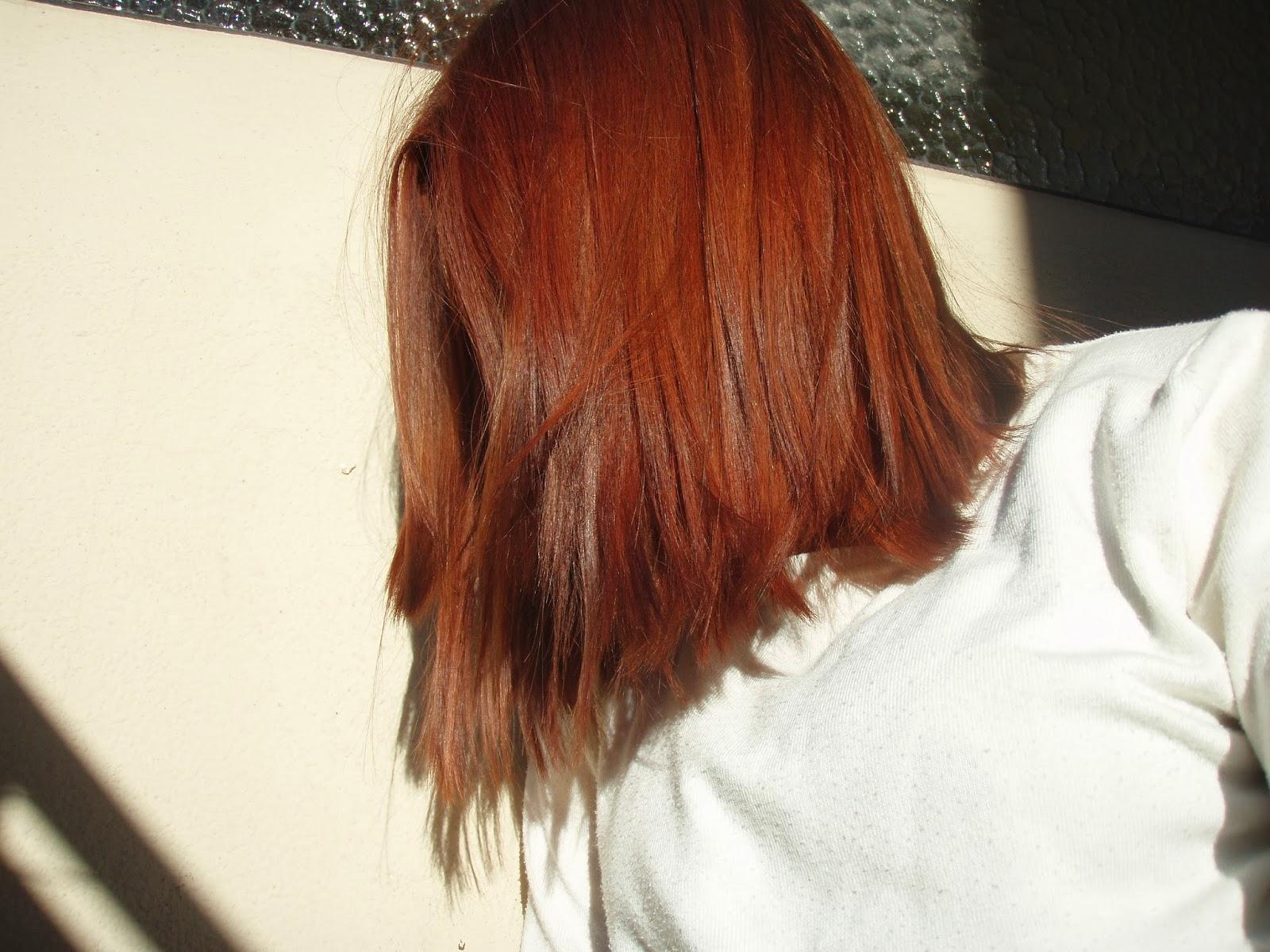 Baño De Color Rojo En Pelo Castano:Nuevo tono de pelo! Cómo quitar el rojo del cabello (por segunda vez