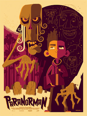 Mondo - ParaNorman Screen Print by Tom Whalen