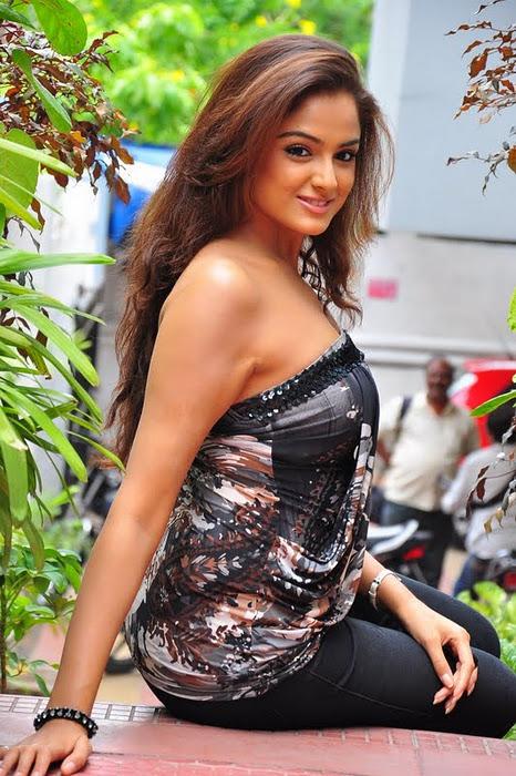 Actress Asmita Sood Beautiful Cleavage Photos hot images