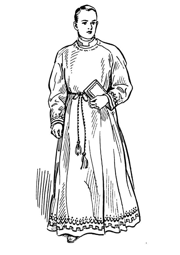 israeli clothing coloring pages - photo#12