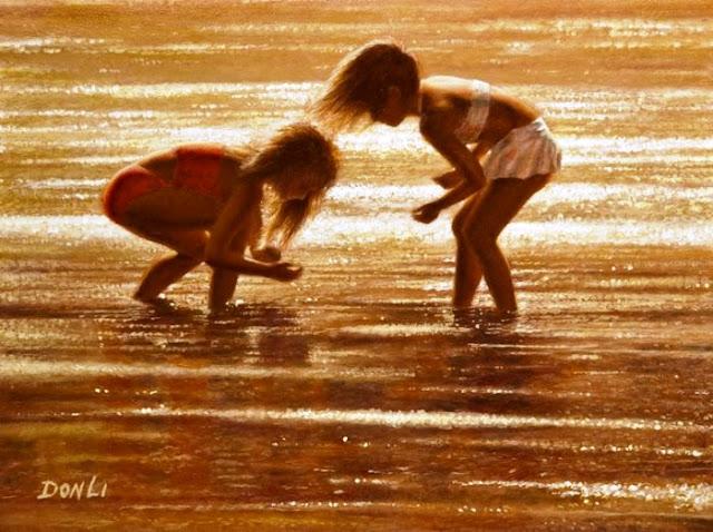 Amazing children painting by Don Li
