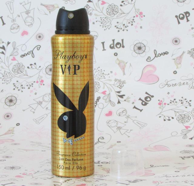 Resenha, Desodorantes, Playboy Vip