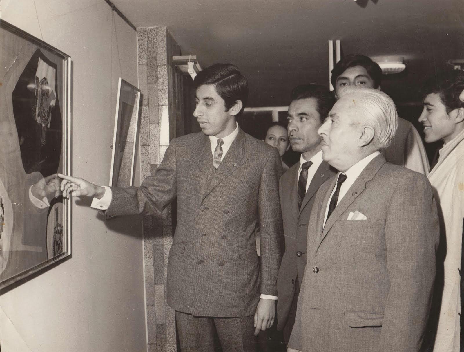 EXPOSICION EN EL AÑO 68...