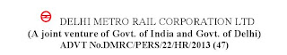 DMRC Junior Engineer Recruitment 2013 Results