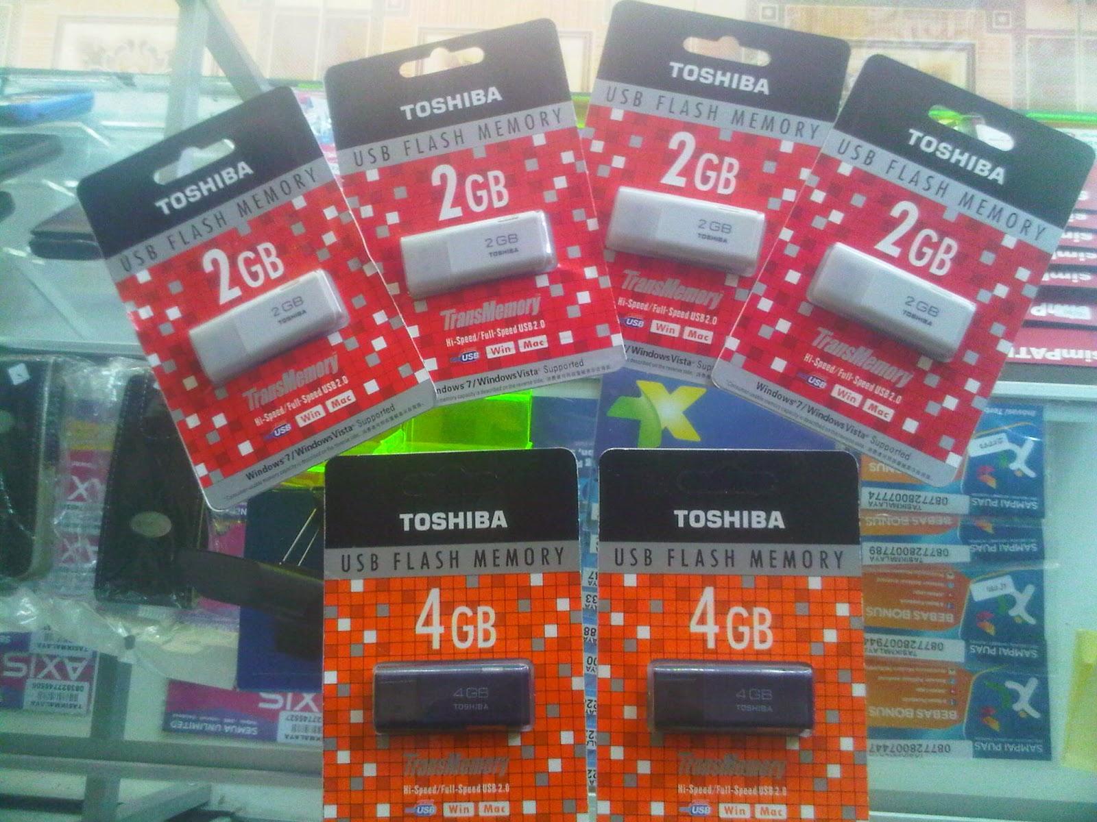 Sip Cell Agen Pulsa Dan Accesories Hp Flashdisk Toshiba Flash Disk 2 Gb