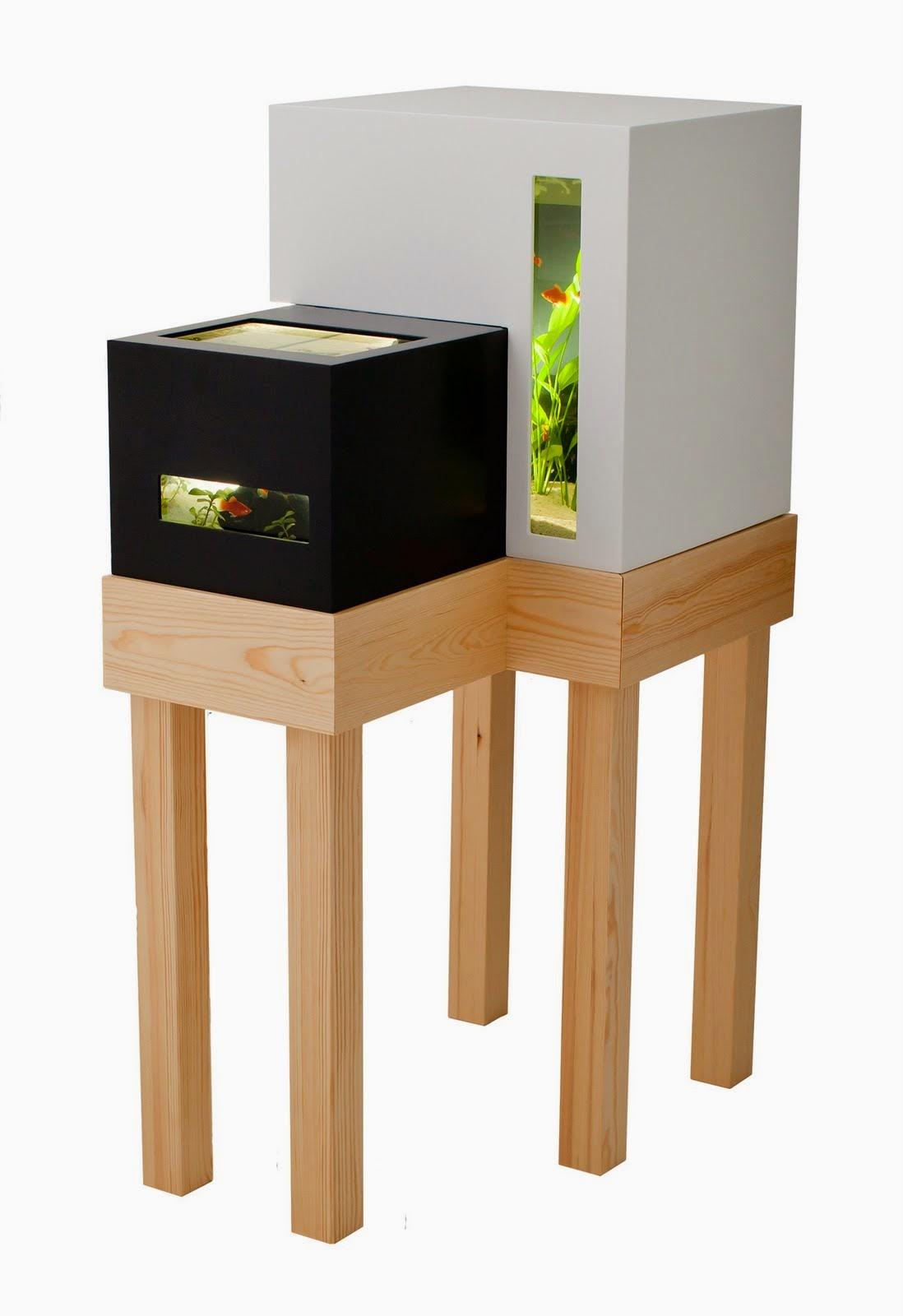 The cool modern fish tanks idea image for Modern fish tanks