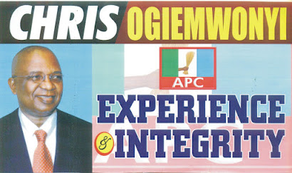 Vote Engr. Chris Ogiemwonyi