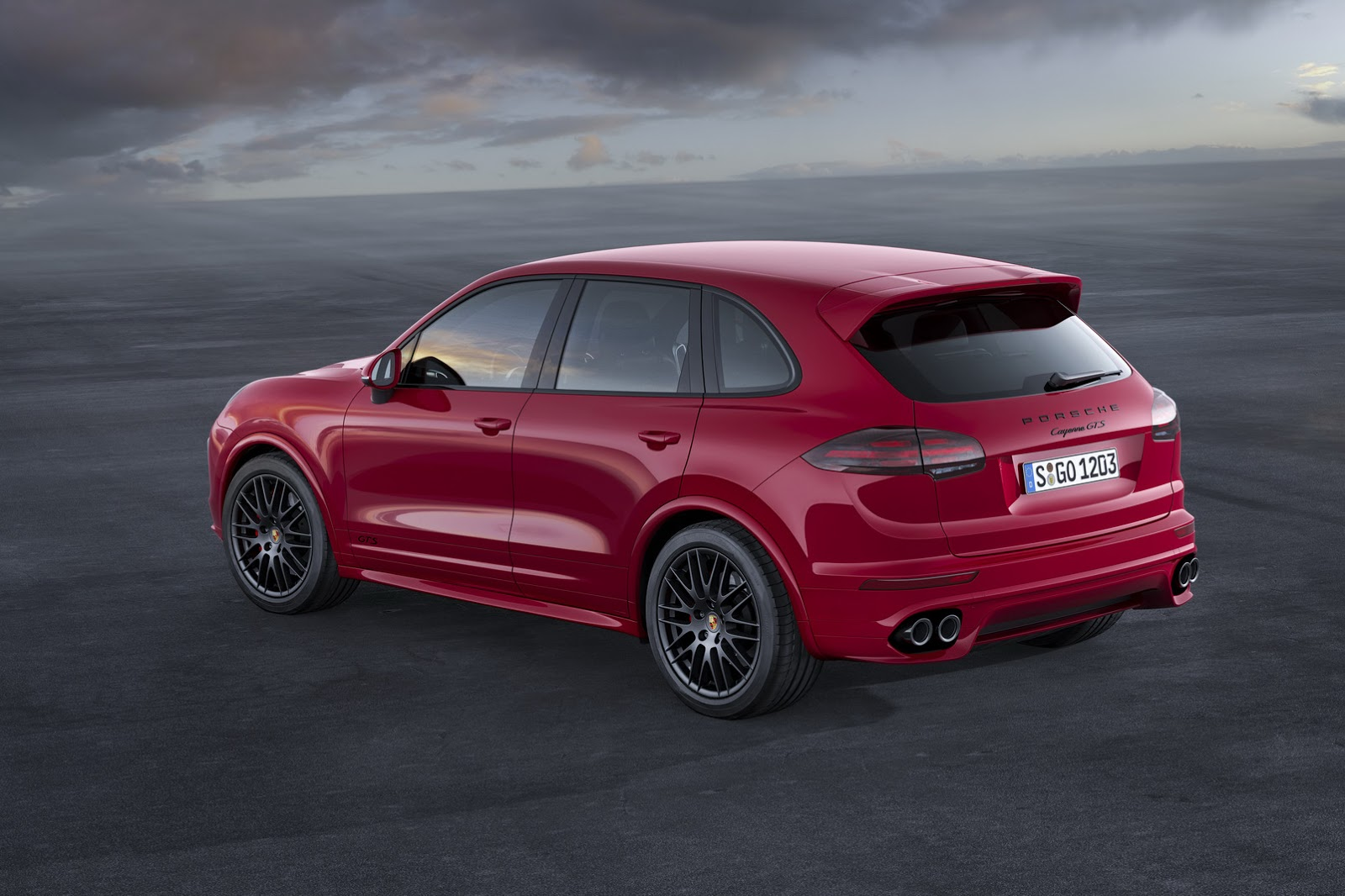 new porsche cayenne gts ditches v8 for bi turbo v6 debuts in la. Black Bedroom Furniture Sets. Home Design Ideas