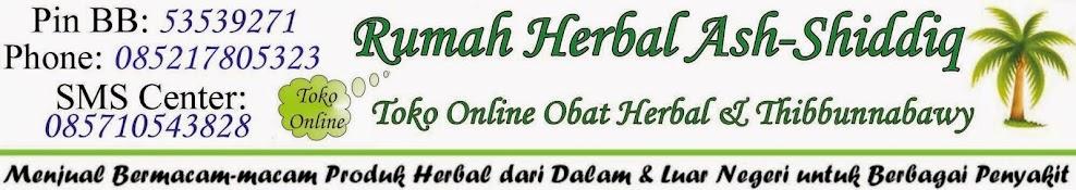 Toko Online Obat Herbal dan Thibbunnabawy