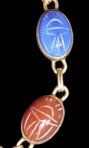 Scarab Bracelet Vintage1