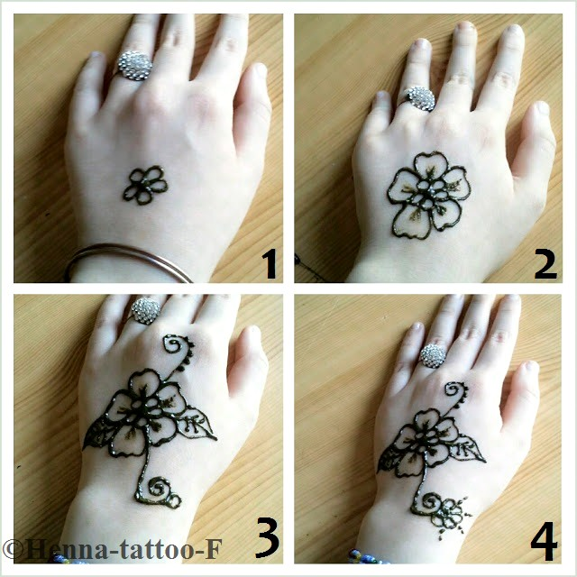 Henna tattoo by f mars 2013 - Henne simple main ...