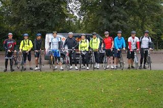 24 hour emergency locksmith Keytek charity cycle team Glastonbury Bike Ride in aid of the British Heart Foundation
